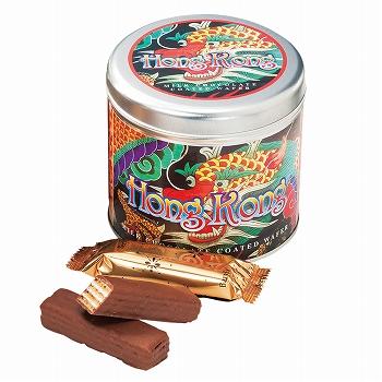 香港お土産 | 香港 チョコウエハース 1缶 [別送][代引不可][翌日配送不可]【177127】