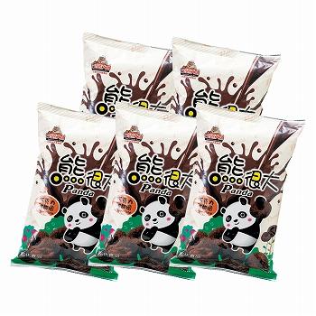 中国お土産 | パンダチョコレートパフ 5袋セット [別送][代引不可][翌日配送不可]【177112】