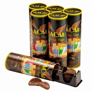 マカオお土産 | マカオ チョコチップス 6個セット [別送][代引不可][翌日配送不可]【177138】