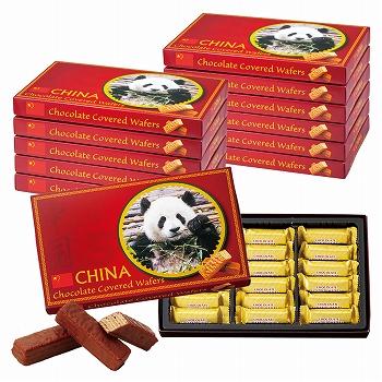 中国お土産 | 中国 チョコウエハース 12箱セット [別送][代引不可][翌日配送不可]【177109】