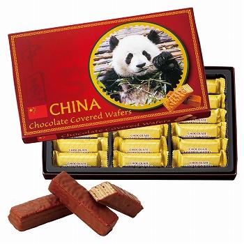 中国お土産 | 中国 チョコウエハース 1箱 [別送][代引不可][翌日配送不可]【177107】