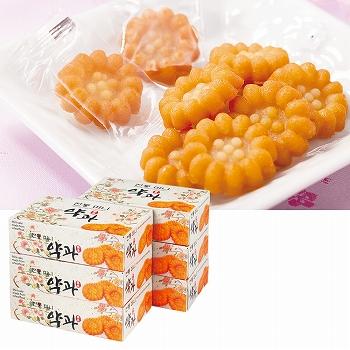 韓国お土産 | 伝統菓子 ヤックァ 6箱セット [別送][代引不可][翌日配送不可]【178013】
