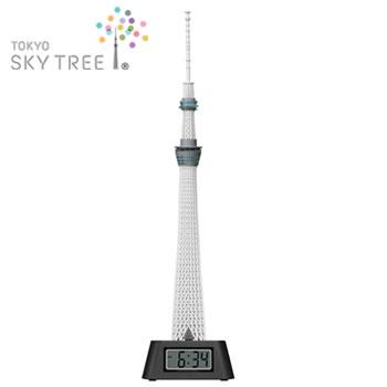 [東京お土産]  東京スカイツリー(R) LEDライト付き フィギュアクロック (置時計)  【J92231】