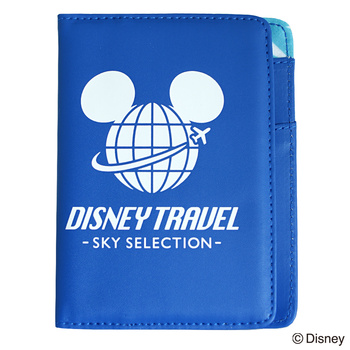 旅行用品 | ディズニー パスポートカバー ミッキーマウス ブルー DISNEY TRAVEL SKY SELECTION【105377】