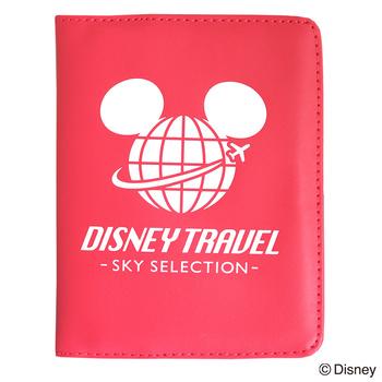 旅行用品 | ディズニー パスポートカバー ミニーマウス レッド DISNEY TRAVEL SKY SELECTION【105378】