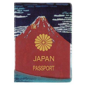 旅行用品|北斎 赤富士パスポートカバー【105459】
