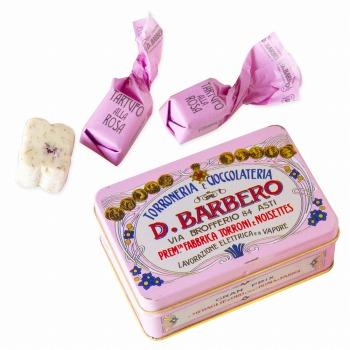 イタリアお土産|バルベロ トリュフチョコ ローズミニ缶 【105481】