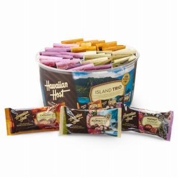 ハワイ・グアム・サイパンお土産   ハワイアンホースト アイランドトリオ チョコレート 36袋入り【173013】