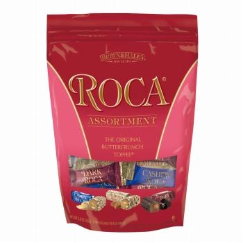 アメリカ・ハワイお土産 | アーモンドロカ ロカアソートバッグ (チョコレートがけバタークランチ)【172010】