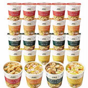 [全4種20個セット]ですかい ミニカップ麺 (うどん、そば、らーめん、ちゃんぽん)【105701】