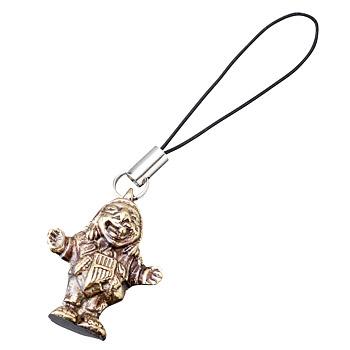 [ペルー土産] エケッコおじさんストラップ エケコ人形ストラップ  【919051】